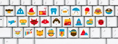 Picture Keyboard by Chris deLorenzo